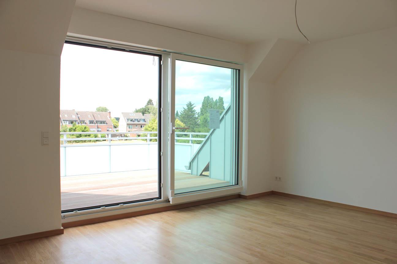 VERMIETET Neubau-Dachgeschosswohnung in Meerbusch-Büderich